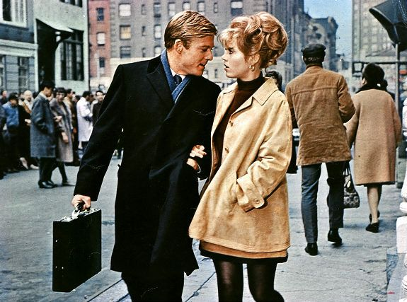 """Barefoot in the Park"" 1967, Jane Fonda and Robert Redford"