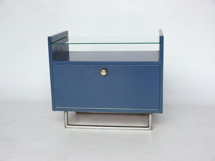 Elmar Berkovich Dutch 1920s modernist cupboard for metz and co. Status: Sold by merzbau