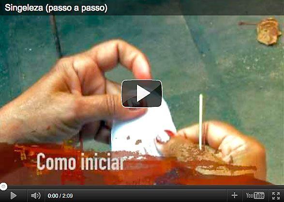 Vídeo sobre a Renda Singeleza tradição em Alagoas