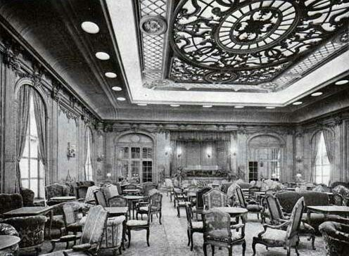 Rms Majestic First Class Lounge Novecento Pinterest