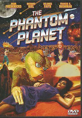 The Phantom Planet (DVD) RICHARD KIEL DELORES FAITH CLASSIC SCI-FI HORROR