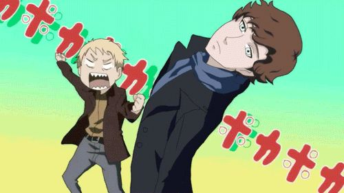 Sherlock Anime gif. Very cool.