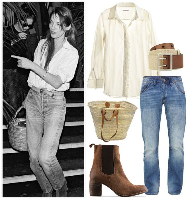 Miss Moss : Jane Birkin: old fashion / new fashion