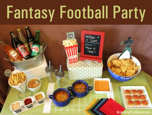 Have your own Fantasy Football Party with help from @Carla Costephens Plus World Market. We found lots of great ideas from Heidi @ Mom's Crafty Space. #WorldMarket #PMedia