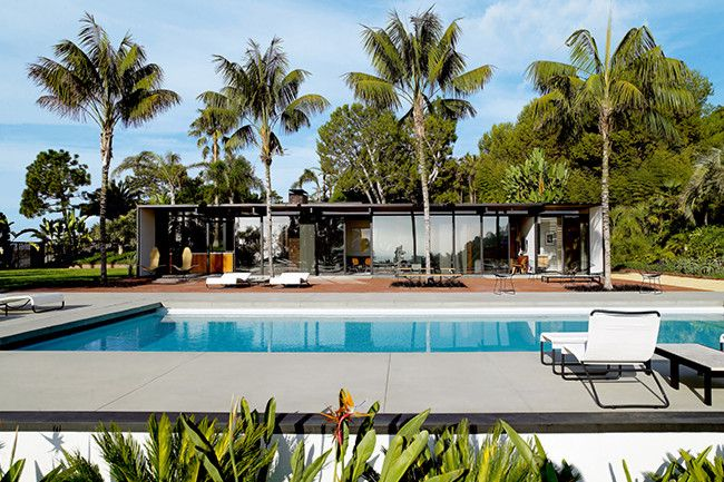 18. Main event Craig Ellwood, a master of mid-century modernism, conceived this house in 1956, in association with...