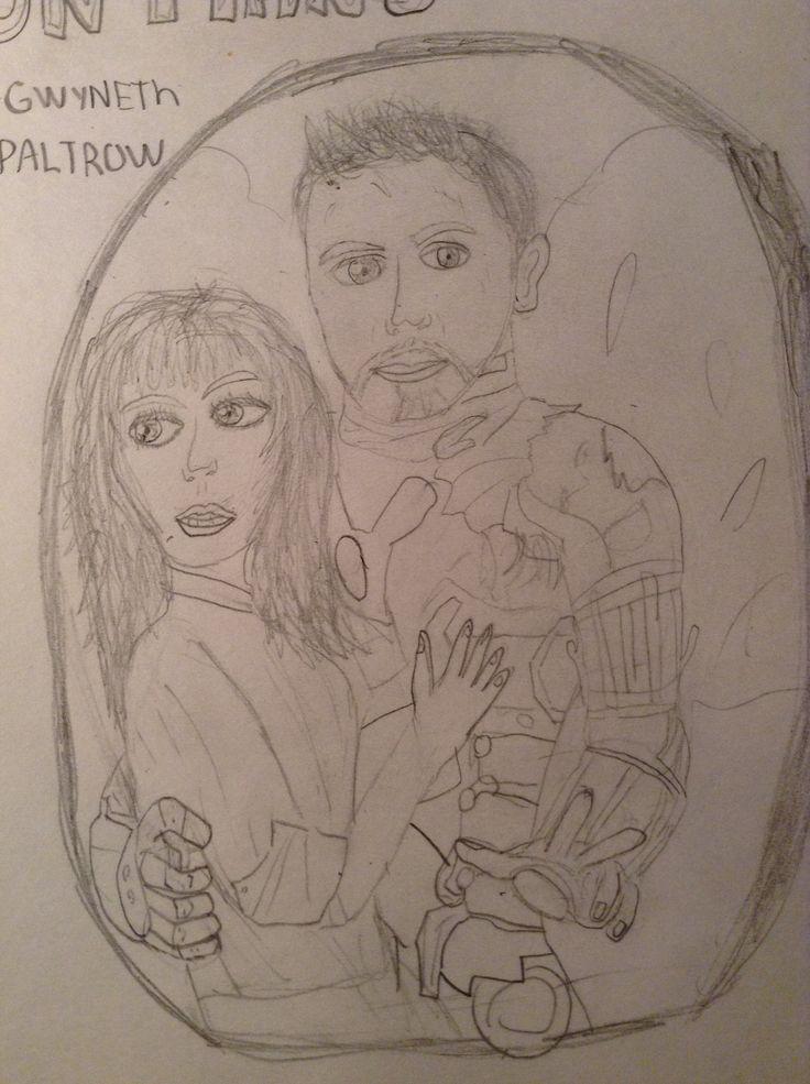 Iron man dessin