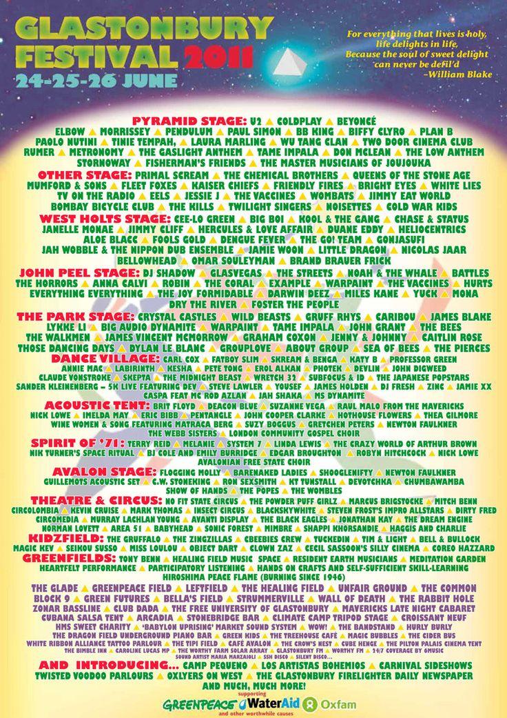 991 Best Glastonbury Festival Images On Pinterest