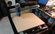 Home Made CNC Reuses Printer Parts | Hackaday