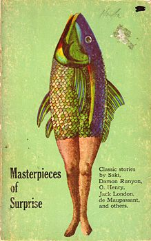 Masterpieces of Surprise, book design by Milton Glaser, 1966