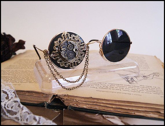 Hey, I found this really awesome Etsy listing at https://www.etsy.com/uk/listing/152530298/steampunk-sunglasses
