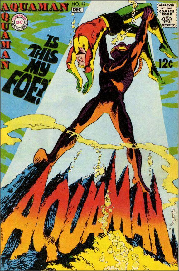 The Black Manta versus Aquaman 1968 paul.malon