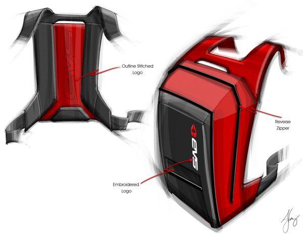 EVS Backpack on Behance