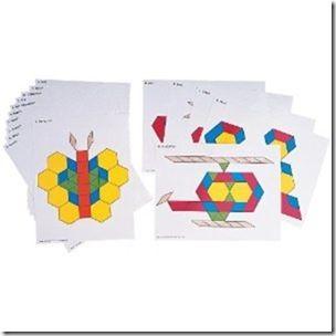 Preschool pattern block activities