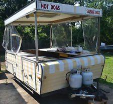 pop up camper food trailer - Google Search