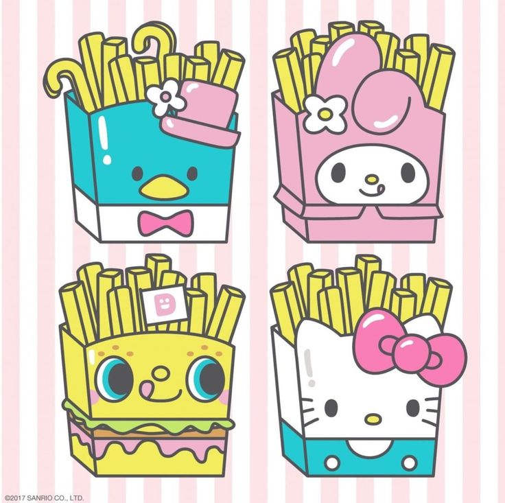 #Sanrio french fries (*^▽^*)