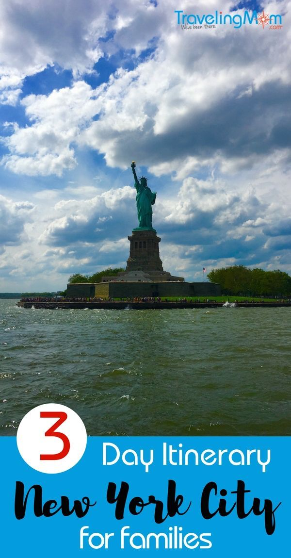 Got a long weekend and want to explore New York City with your family? Here's your 3-day itinerary packed with all the things kids love, plus sites that parents want to see too. #newyork #newyorkcity #familytravel #TMOM