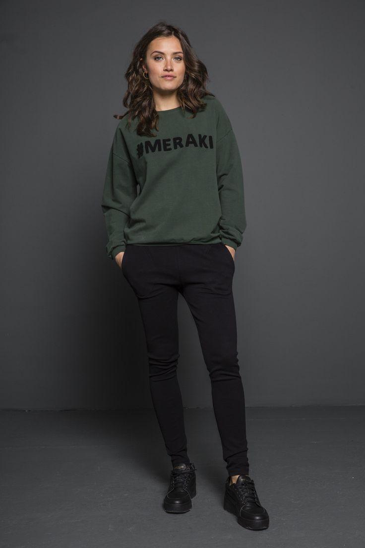 #meraki sweater - dark green - Truien - Women    BY-BAR - Autumn   Winter 2017