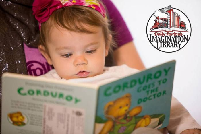 Dolly Parton Imagination Library: Free Book for Your Child Every Month Until They TurnFive