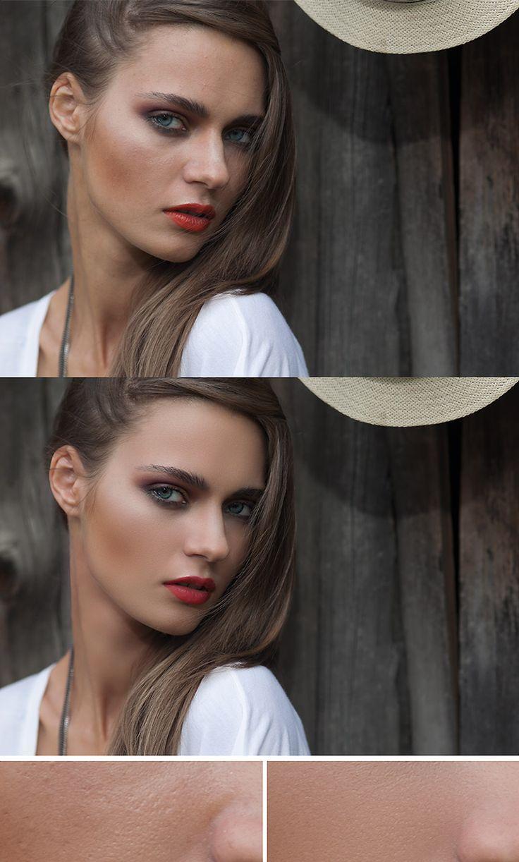 Photoshop Photo Retouching Skin Retouching Photo editing High-end retouching