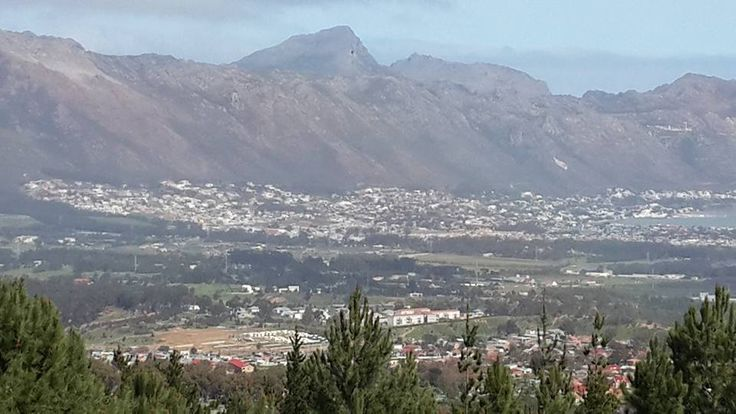 Gordons Bay as seen from Wedderville Estate in Somerset West. #GordonsBay  #SomersetWest #Wedderville