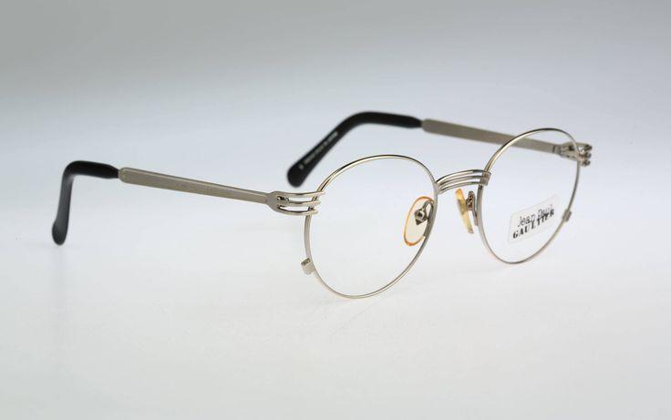 Jean Paul Gaultier 55-3174 / Rare designer eyewear /NOS / 90s Vintage sunglasses and eyeglasses / Lightweight frame by CarettaVintage on Etsy
