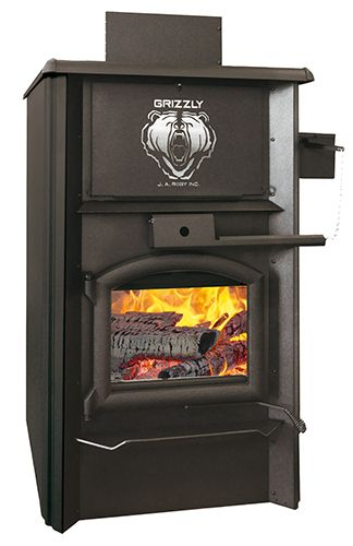 GRIZZLY WOOD BURNING FURNACE | Code BMR :046-9221