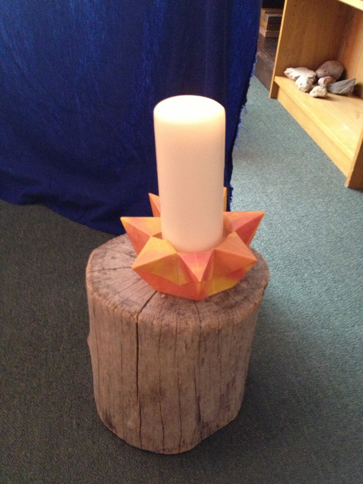 Candles in Waldorf Kindergarten classrooms to be lit for storytelling circle time