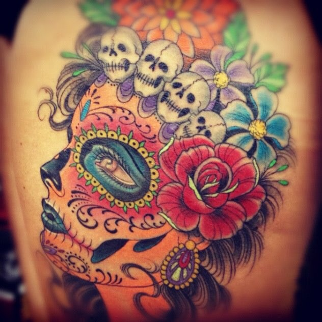 17 best images about ink candy skulls sugar candy