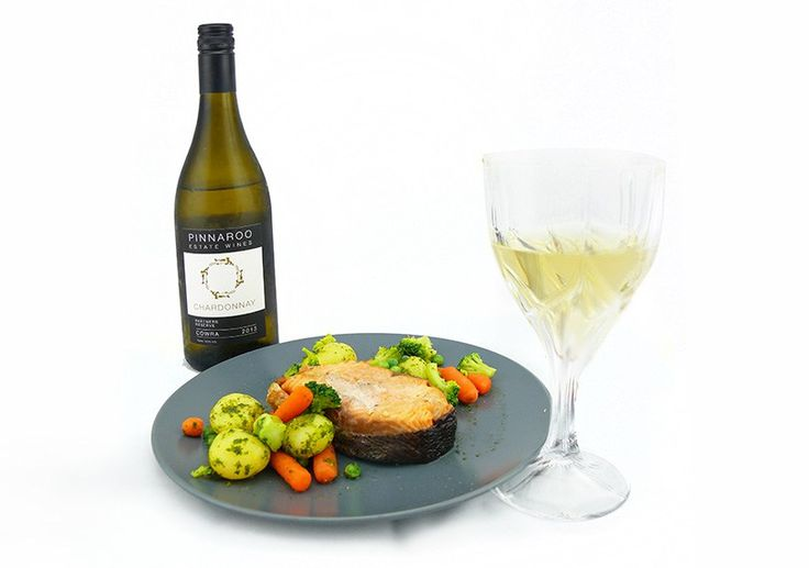 Pinnaroo Partners Reserve Chardonnay 2013 with grilled salmon