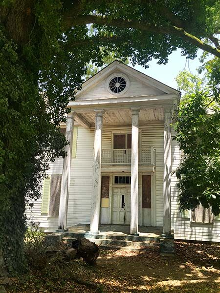 Save this old house handsome two story greek revival