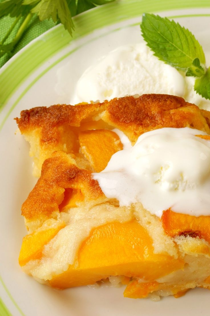 Peach Cobbler #Dessert #Recipe