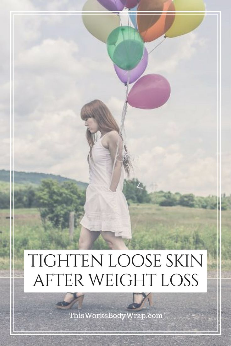 how to help loose skin after weight loss