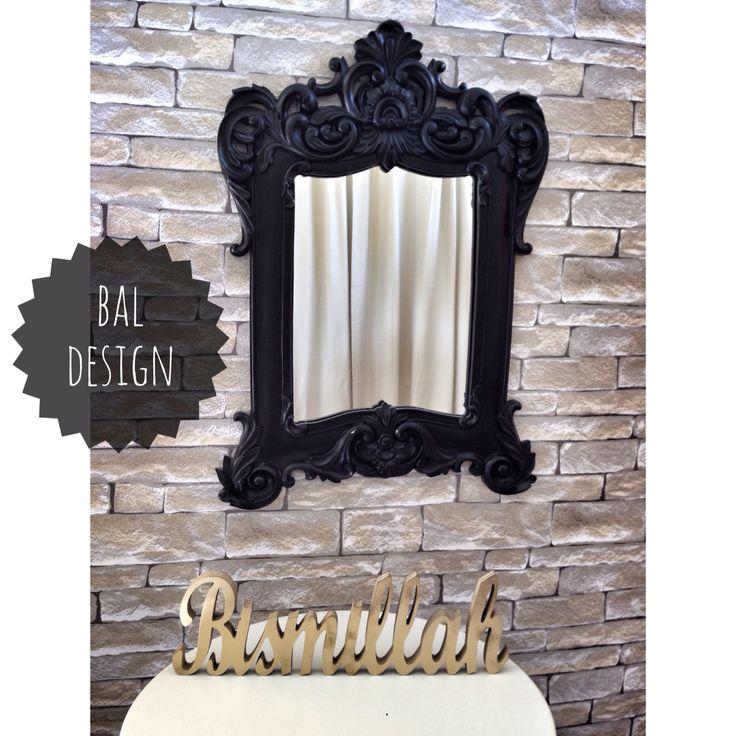 Büyük Barok Ayna