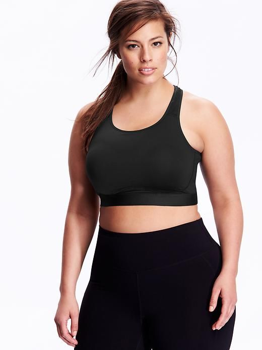 High-Support Plus-Size Sports Bras                                                                                                                                                                                 More