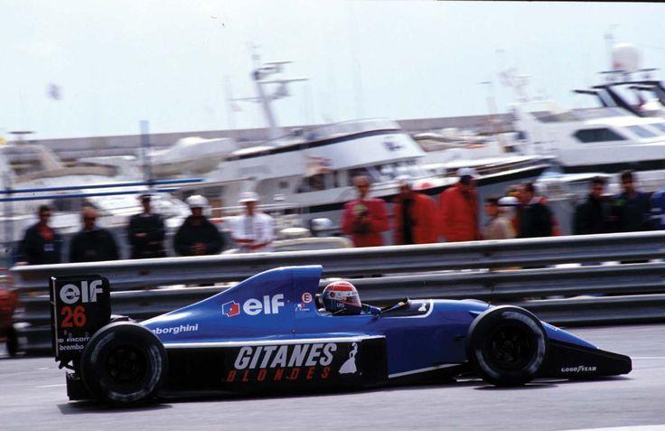 1991 GP Monaco (Eric Comas) Ligier JS35 - Lamborghini
