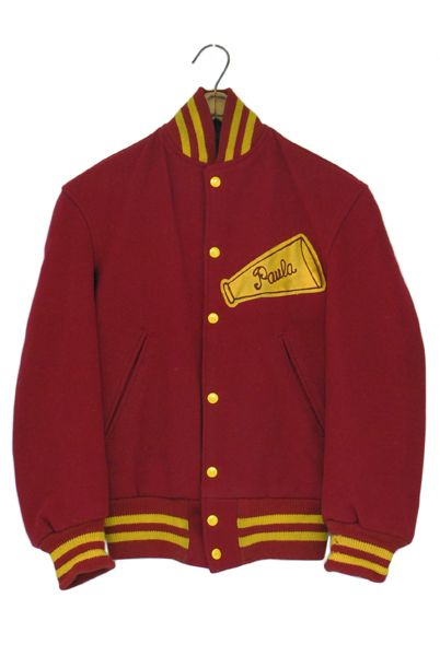 60s-70s california cheerleader university jacket