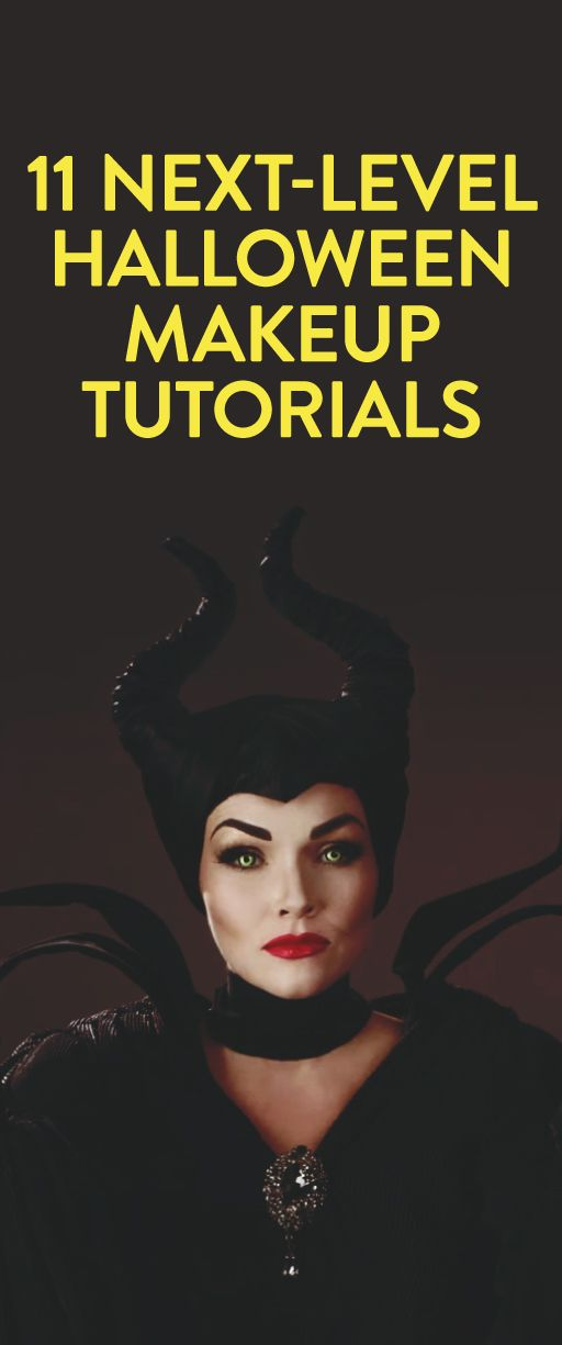11 next-level Halloween makeup tutorials
