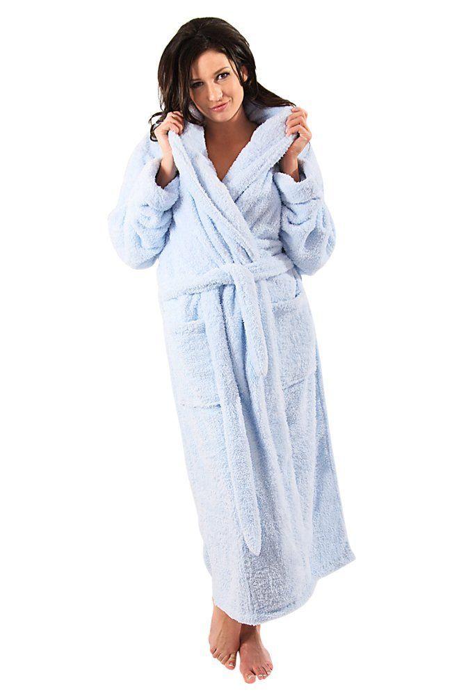 Alexander Del Rossa Women s Microfiber Fleece Bathrobe Robe ( 49.99 ... fb76eac5a