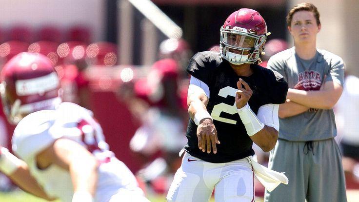 Alabama QB Jalen Hurts settles in despite the noise