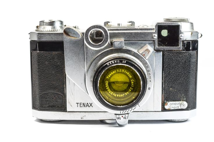 Zeiss Ikon Tenax 35mm Rangefinder Camera #Zeiss #Camera #Vintage #Photography #Filmphotography