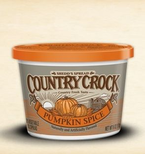 Yep. That's pumpkin spice butter.
