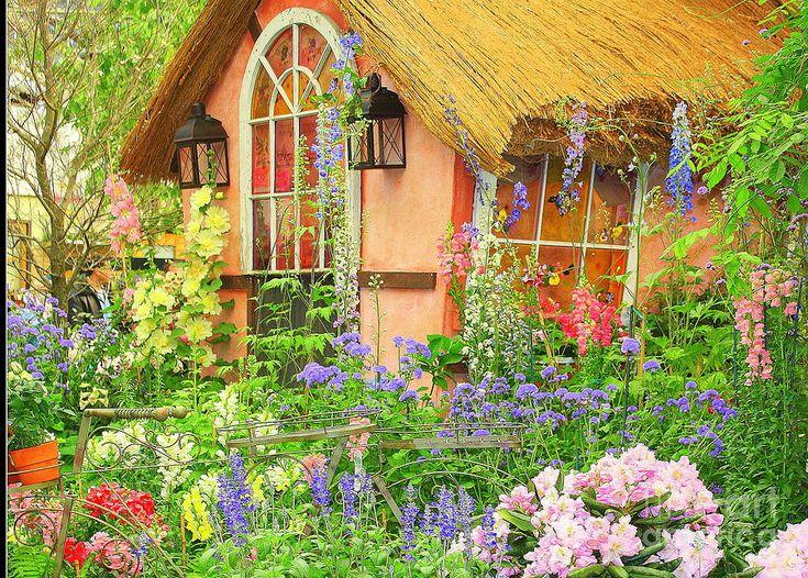 The English Cottage Spring Garden Dora Sofia Caputo Jpg