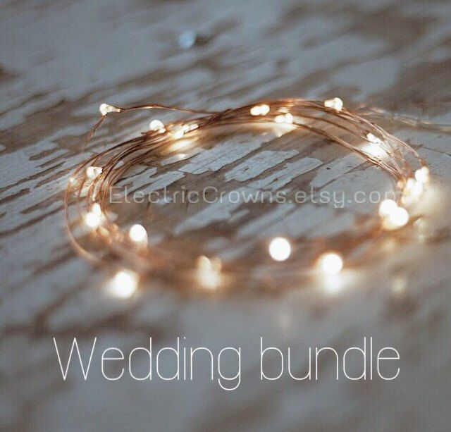 Rustic wedding decor, Led string lights, starry Lights, battery fairy lights. Fall wedding lights™ by ElectricCrowns on Etsy https://www.etsy.com/listing/238194246/rustic-wedding-decor-led-string-lights