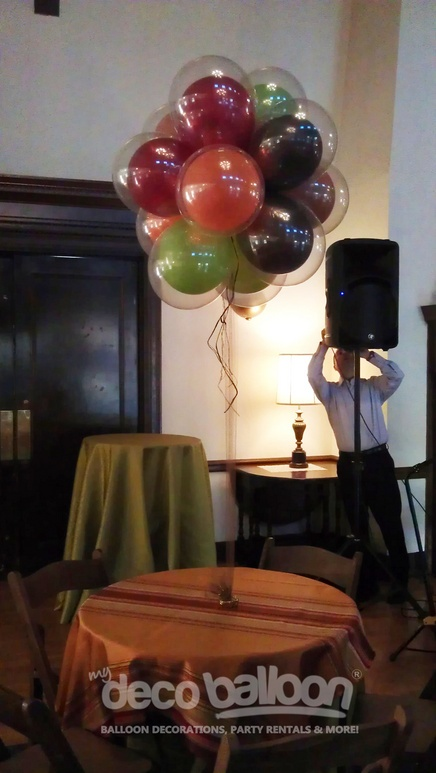 17 best images about amy 39 s birthday on pinterest for Balloon decoration chicago