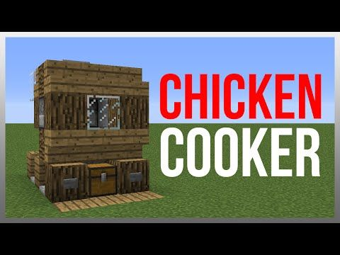 Minecraft 1.8: Redstone Tutorial - Chicken Cooker v2! - YouTube