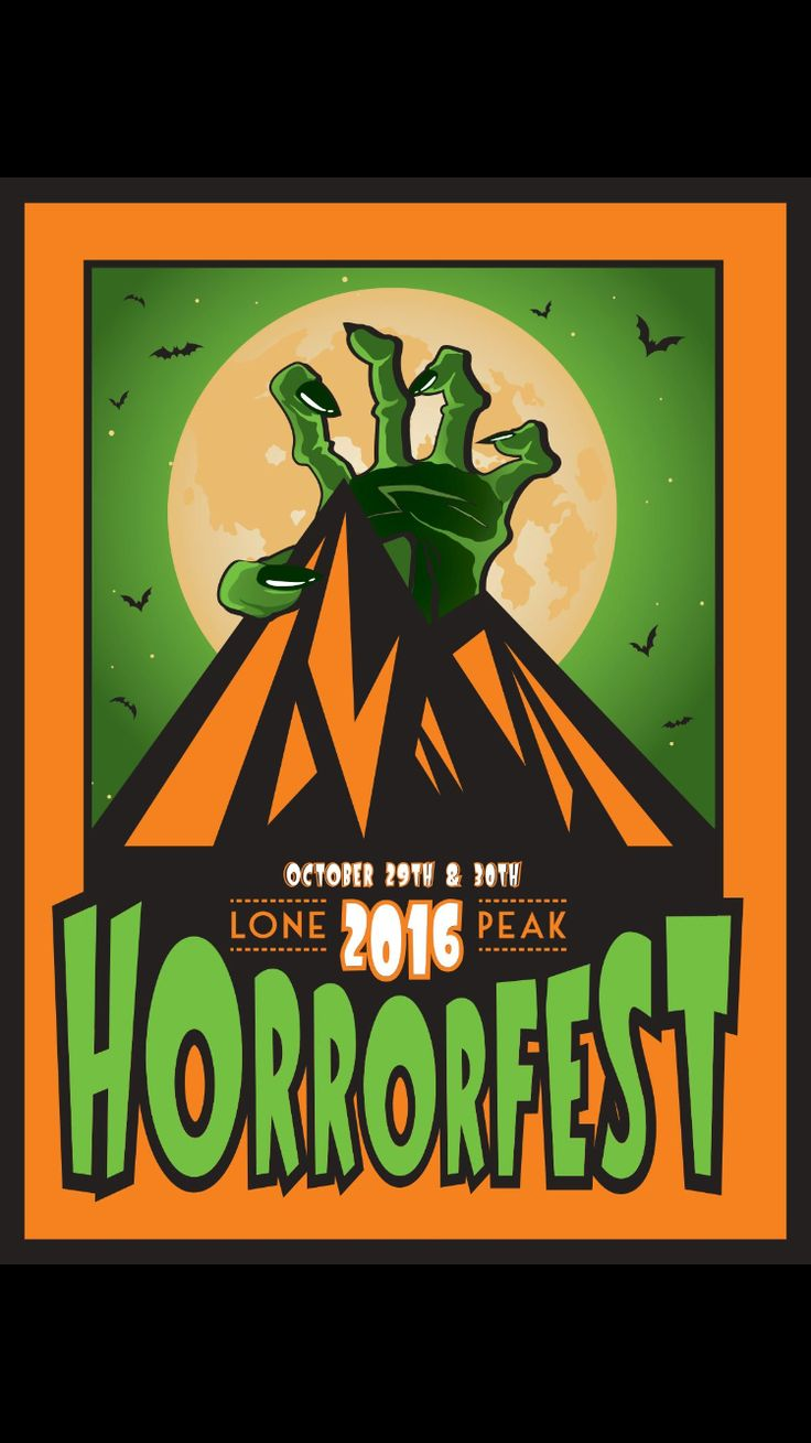 Gear up for Halloween at Lone Peak Cinema's #horrorfest Learn more on their newly updated website at: http://lonepeakcinema.com #poster and #website #design by #vegacreations