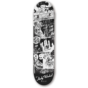 B Ad Series Logo Deck now featured on Fab.  [Andy, Alien Workshop]