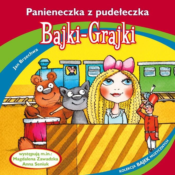 """Bajki-Grajki nr 89 """"Panieneczka z pudełeczka""""  Ilustracja: Marcin Bruchnalski  www.bajki-grajki.pl"""