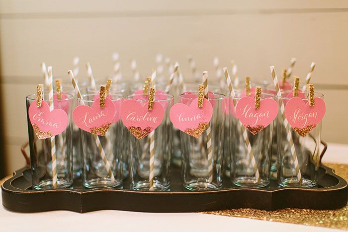 Glam Southern Bridesmaid Luncheon Bachelorette Party