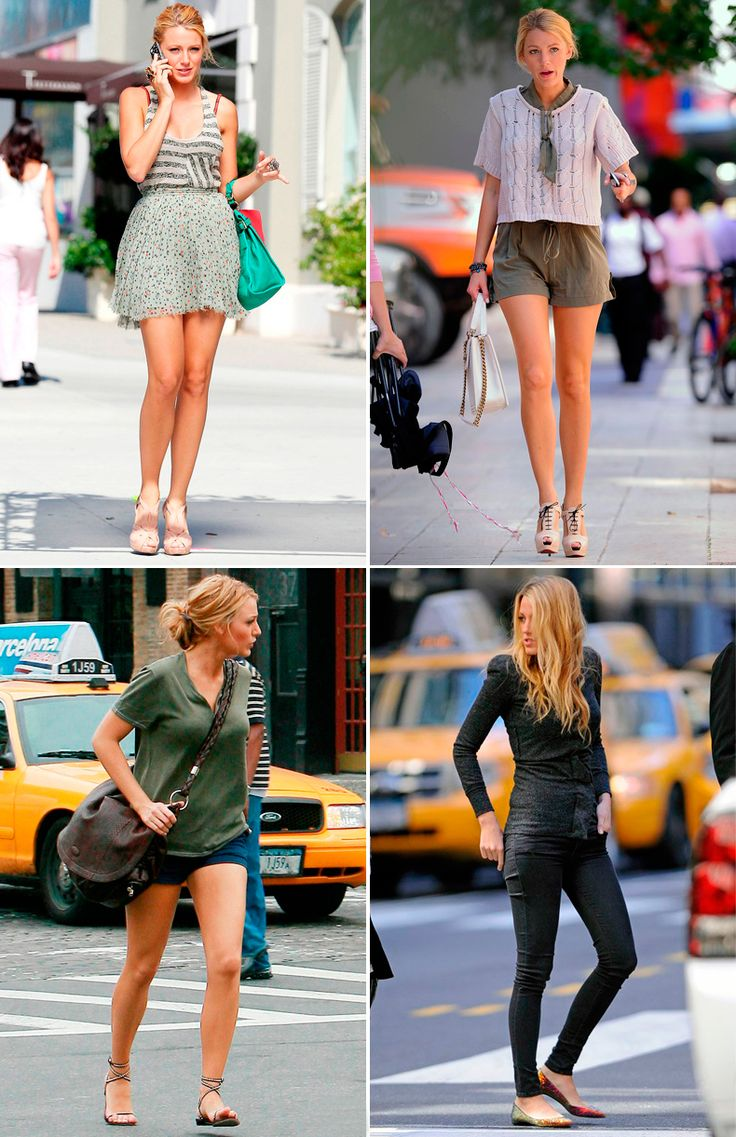 BLAKE LIVELY STYLE ICON | Collage Vintage
